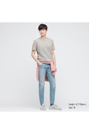UNIQLO Men Short Sleeve - Men's Supima- Cotton Crew Neck Short-Sleeve T-Shirt, , M