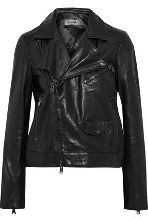 J BRAND Women Leather Jackets - Woman Letty Leather Biker Jacket Size S
