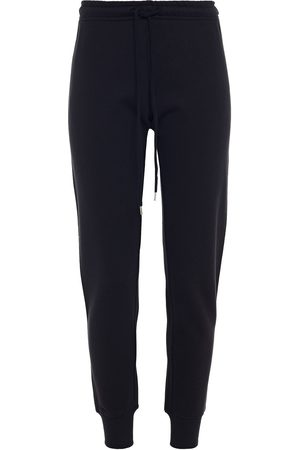 Love Moschino Women Sweatpants - Woman Studded French Cotton-terry Track Pants Size 38