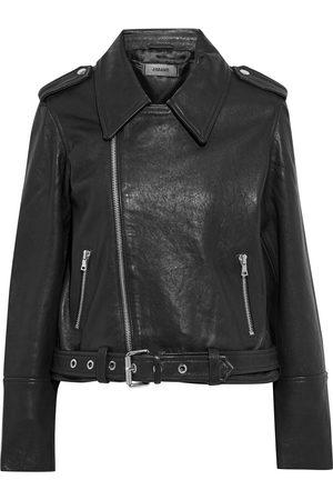 J BRAND Woman Maysen Leather Biker Jacket Size S