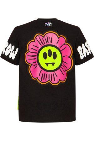 BARROW Cotton Flower Logo Printed T-shirt