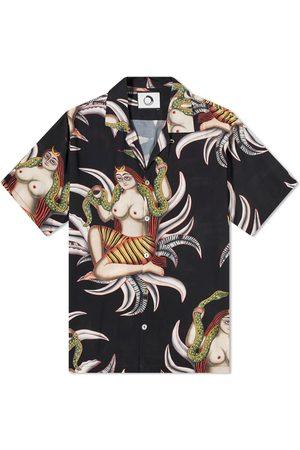 Endless Joy Snake Godess Printed Vacation Shirt