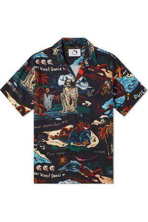 Endless Joy Vivamus Dark Print Vacation Shirt