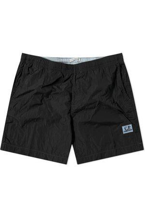 C.P. Company Men Swim Shorts - Patch Logo Swim Short