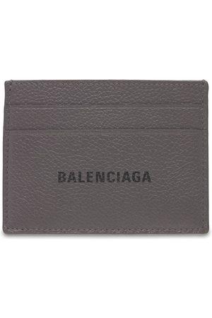 Balenciaga Men Wallets - Logo Leather Card Holder
