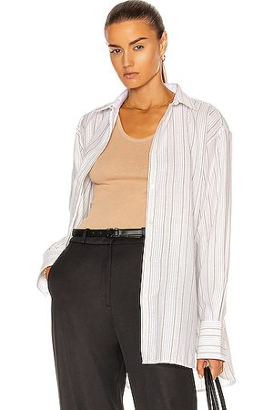 Totême Silk Blend Shirt in Neutral