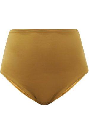 ASCENO Deia High-rise Bikini Briefs - Womens - Khaki