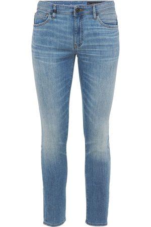 Armani 5 Pockets Stretch Cotton Denim Jeans