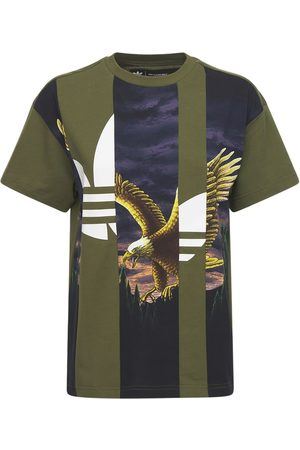 ADIDAS ORIGINALS Graphic Cotton T-shirt