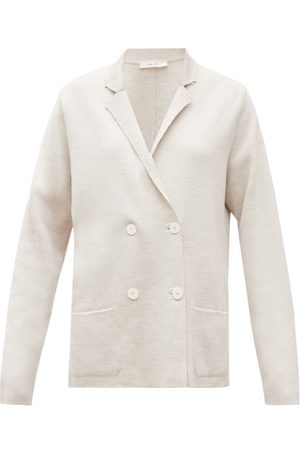 The Row Women Blazers - Chopok Double-breasted Knitted Jacket - Womens