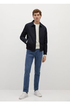 MANGO Zipper cotton jacket