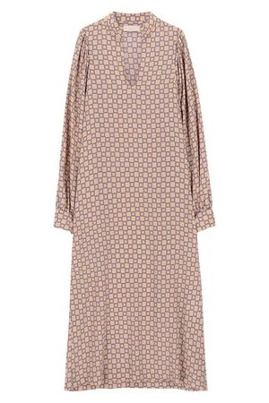 Momoni Women Party Dresses - Bologna dress in printed crepe de chine