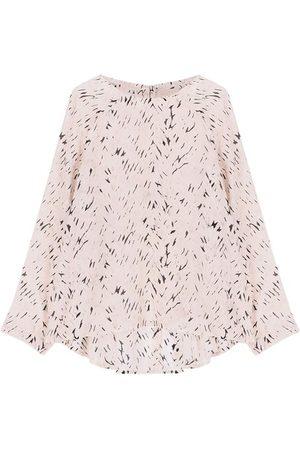 MOMONÍ Women Blouses - Bevilacqua blouse in printed habotai