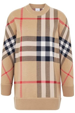 Burberry Check jumper