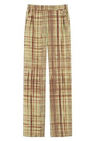 Momoni Cagliari trousers in printed twill