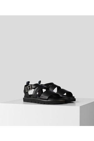 Karl Lagerfeld Men Sandals - Kastor Light Lug Buckle Sandal