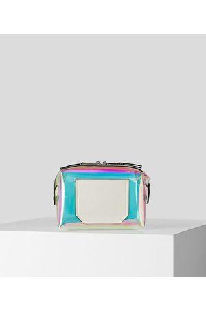 Karl Lagerfeld Women Toiletry Bags - K/JOURNEY HOLOGRAM TOILETRY BAG