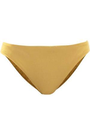 ASCENO Women Bikinis - The Naples High-cut Bikini Briefs - Womens - Khaki