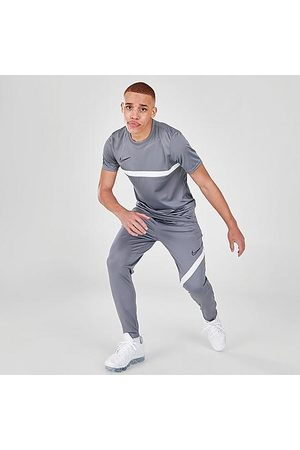 Nike Men's Dri-FIT Academy Pro Soccer Pants in Grey/Smoke Grey