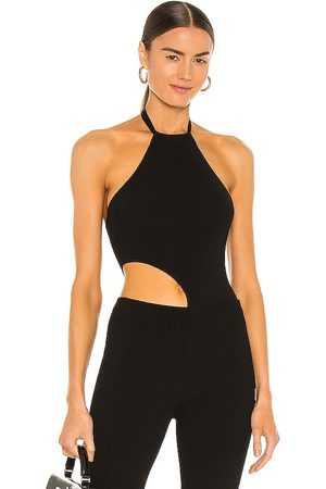 Aya Muse Jade Cutout Bodysuit in .