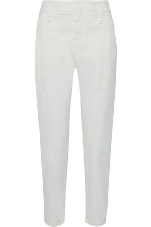 Brunello Cucinelli Woman High-rise Tapered Jeans Size 36