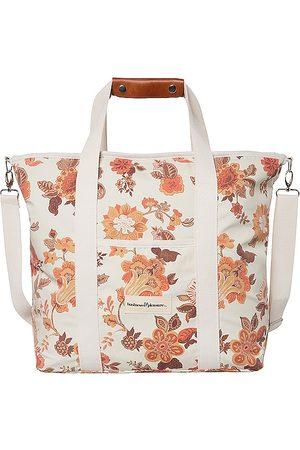 business & pleasure co. Cooler Tote Bag in Burnt Orange.