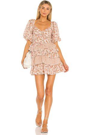Tularosa Shaylee Dress in Rose.
