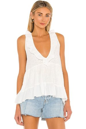 Free People Out And About Tank in Ivory.