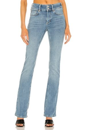 Free People Shayla Bootcut Jean in Blue.