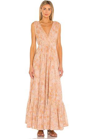 Mes Demoiselles Sunkiss Dress in Orange.
