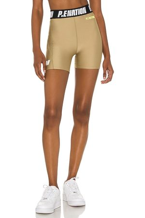 P.E Nation Agility Short in Olive.