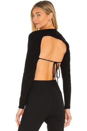 Camila Coelho Felicity Asymmetrical Back Sweater in .