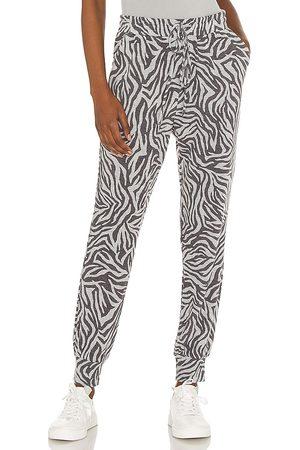 1. STATE Chic Zebra Jogger in Grey.