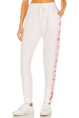 STRUT-THIS Frenchie Jogger in White.