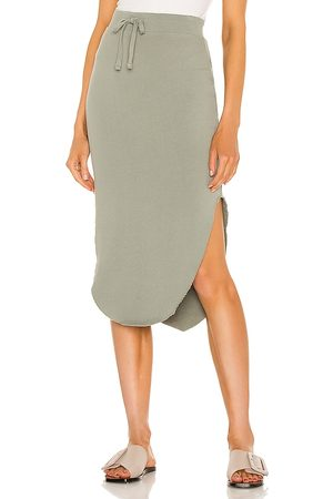 FRANK & EILEEN Unforgettable Skirt in Sage.