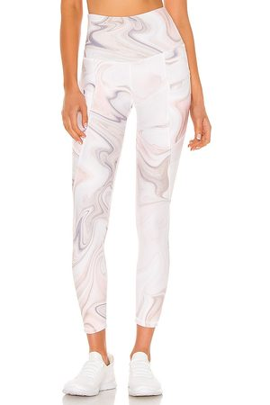 STRUT-THIS Flynn Ankle Pant in Pink.