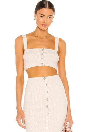 Song of Style Bailey Knit Top in Ivory.