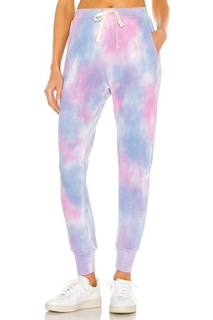 Electric & Rose Women Sports Pants - Wesley Sweatpant in Pink,Blue.