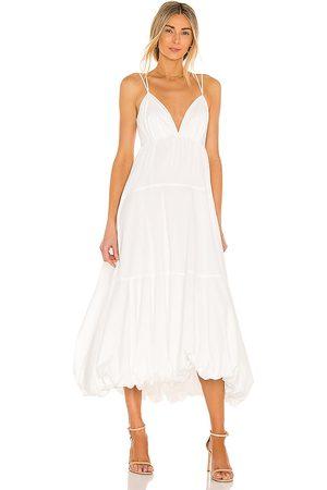 Cinq A Sept Women Midi Dresses - Effie Dress in Ivory.