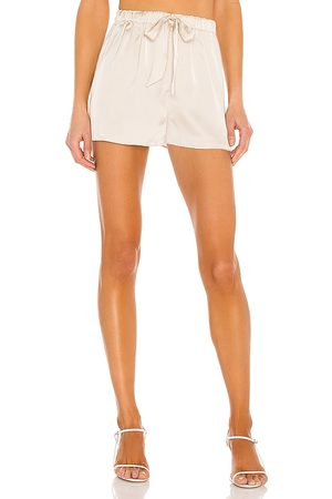 L'Academie The Chantal Short in Ivory.