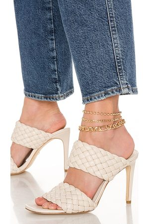 8 Other Reasons 101 Anklet Set in Metallic .
