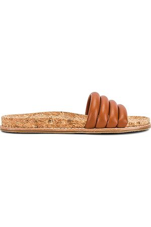 Steve Madden Drips Sandal in Cognac.