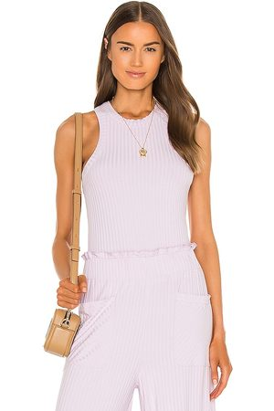 Free People X FP Movement Blissed Out Tank in Lavender.