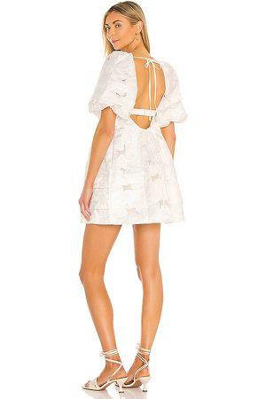 For Love & Lemons Women Dresses - Evelyn Babydoll Dress in Ivory.