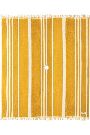business & pleasure co. Beach Blanket in Mustard.