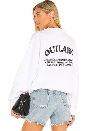 ANINE BING Ramona Outlaw Sweatshirt in .