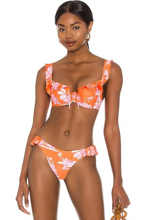 Agua Bendita X REVOLVE Nahla Bikini Top in .