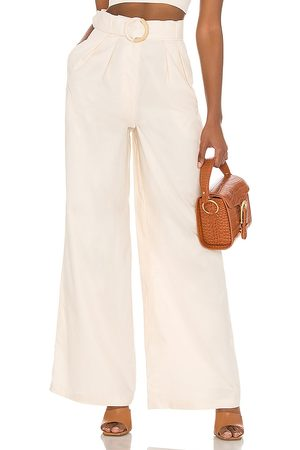 Song of Style Lotte Pant in Ivory.