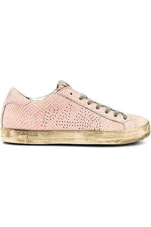 P448 Prince Sneaker in Pink.