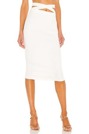 Michael Costello X REVOLVE Emmaline Bandage Midi Skirt in .